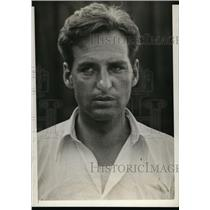 1929 Press Photo George M Murphy coach of varsity crew University of Wisconsin