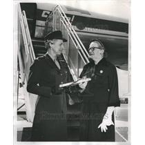 1952 Press Photo Katherine Amelia Towle Mrs. Jessie - RRR45691
