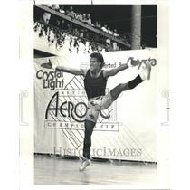 1985 Press Photo Chet Vienne Boby Builder