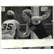 1981 Press Photo Rich Yonakor of Cavs - cvb69478
