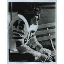 Press Photo Gary Fenick, S, Chicago Bears - cvb70024