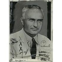 1931 Press Photo BW Bierman-University of Minnesota head football coach