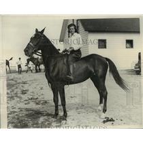 1932 Press Photo Betty Leeda, now Mrs. Walter C. Davidson. on Cicero - mja16883