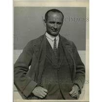 1929 Press Photo German Diplomat Dr. Max Lorenz - nef06471