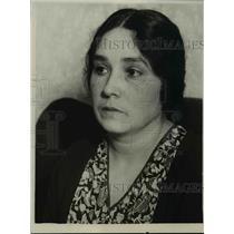 1929 Press Photo Wife of Guatemala Consul-General Francesco DeLeon Perez