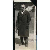 1928 Press Photo Track and field coach Lawson Robertson - net01005