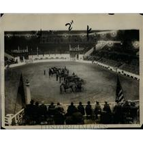 1928 Press Photo 43rd annual National Horse Show in NYC novice class - net08450