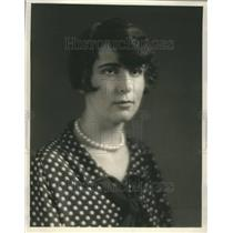 1926 Press Photo Mary Louise Mayer Mary Lyon School