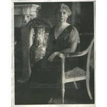 1929 Mrs. Hellen Taft Press Photo