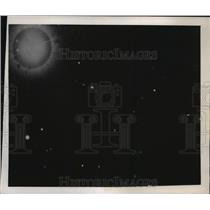 1949 Press Photo Oldest & most remote star worlds seen for the first time