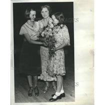 1932 Press Photo Wilma Pyle Spelling Bee Winner Dress - RRR49595