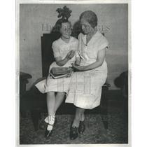 1932 Press Photo Wilma Pyle spelling bee contestant - RRR49597