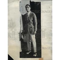 1926 Press Photo Irving Berlin, world famous song writer & husband Ellen MacKay