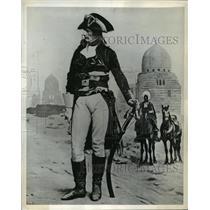 1941 Press Photo Napoleon Bonaparte during his invasion in Egypt - mja33868