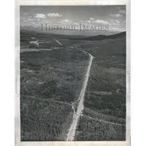 1946 Press Photo Alaskan Highway Aerial Canada Army - RRR50385