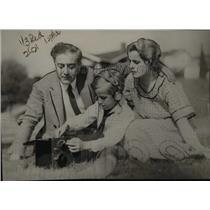 1922 Press Photo The Garcia Family of Radio Experts - nef12170