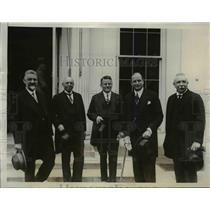 1927 Press Photo German Financiers at White House - nef13250