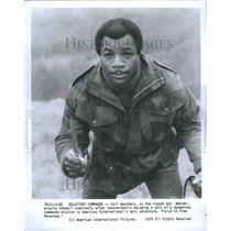 1978 Press Photo Carl Weathers