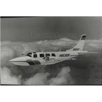 1983 Press Photo Airplane, Machen - spa32742