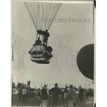 "1930 Press Photo Ballooning Event Entry ""City of Cleveland"" - nez24467"