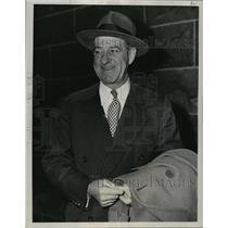 1949 Press Photo Buckley Harris, previous manager of the Washington Senators