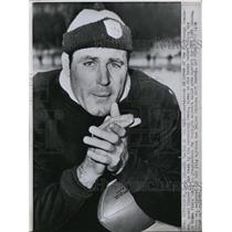 1964 Press Photo Ed Brown, Pittsburgh Steeler Quarterback - nef18685