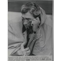 1967 Press Photo Frank Ryan Cleveland Browns Quarterback talked wih coaches
