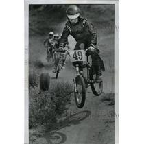 1979 Press Photo Bicycle Motocross racing - spa33456