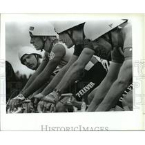 1988 Press Photo Bicycle Racing Olympic Trials - spa33664