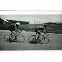 1984 Press Photo Bicycle Racing Olympic - spa33667