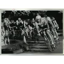 1984 Press Photo Bicycle Racing Olympic Trials - spa33672