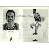 1974 Press Photo Jackie Jackson- Harlem Globetrotters - mjs03441