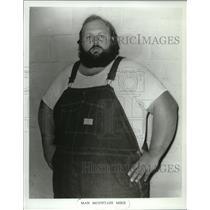 1969 Press Photo Mountain Man Mike US Wrestler - mjs03574