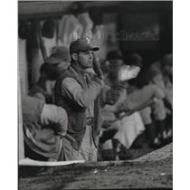 1960 Press Photo Gene Mauch, young manager of the Philadelphia Phillies