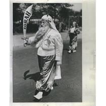 1941 Press Photo Shriner's Parade Dr. J.L. Fortune