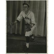 1930 Press Photo Evert Alchon of Admiral Baseball Club - cvb77414