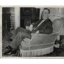 1945 Press Photo Joe Judge, Washington's famed first baseman back as Coach.