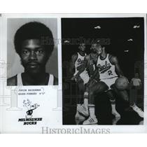 1980 Press Photo Junior Bridgeman, Guard-Forward 6-5 Milwaukee Bucks - mjs04078
