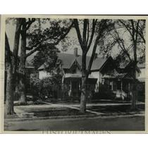 1936 Press Photo Home of Francis Willard of Women's Christian Temperance Union.