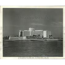 1958 Press Photo 400 room Diplomat East, biggest of southern Florida hotels
