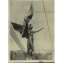 1924 Press Photo 1st Division War Memorial in Washington D.C. - mjx16578
