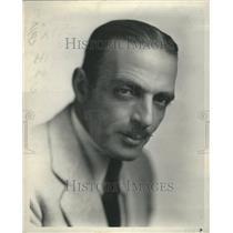 1932 C. Henry Gordon  Press Photo