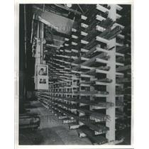 1964 Press Photo Crane