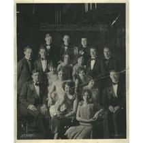 1930 Press Photo Northwestern University Choral Group