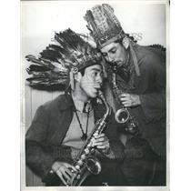1938 Press Photo Walpole Band