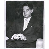 1955 Press Photo Louis Elwood Wolfson Modren Corporate