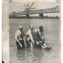 1950 Press Photo Act McConathy Baptized by James Poole - RRR71439