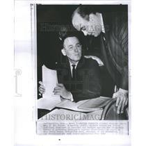 1966 Press Photo Frank Porretta in hearing