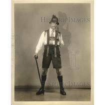 """1932 Press Photo Frank Morgan in """"The Band Wagon"""""""