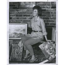 1966 Press Photo Coleen Gray Actress Days Our Lives - RRR73845